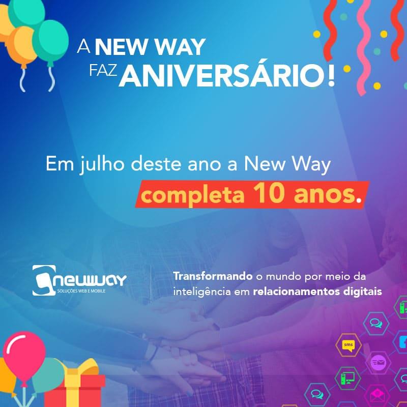 A New Way faz aniversário!