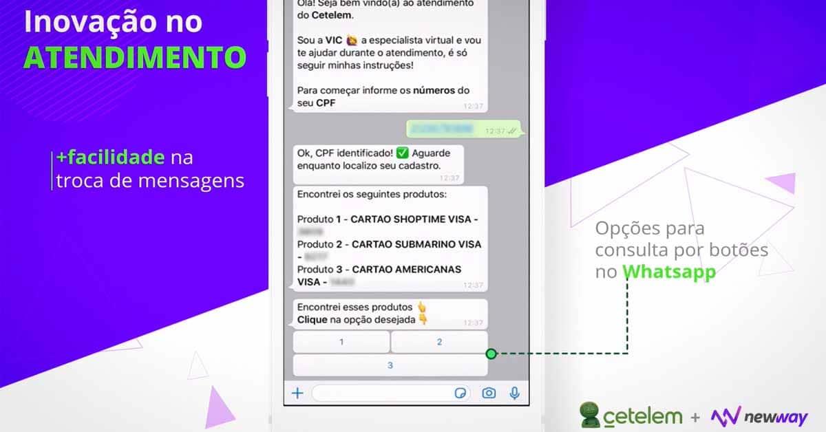 Case de sucesso: inclusão de botões no WhatsApp facilita atendimento digital