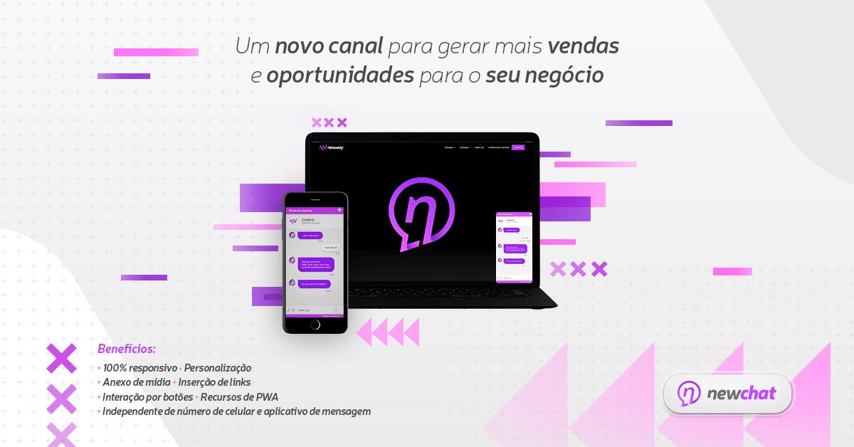 NewChat: um novo canal de interação entre você e seu cliente
