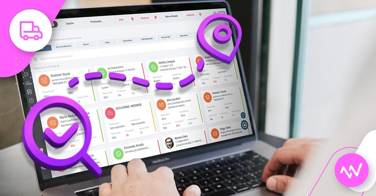 Plataforma de atendimento digital em operações de transporte e logística: conheça os benefícios